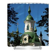 Estonian Church Orthodox And Baroque Shower Curtain