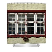 Estonian Window Shower Curtain