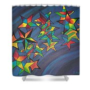 Estrellas Shower Curtain