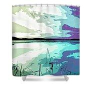 Estuary Shower Curtain