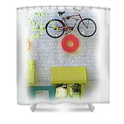 Et, Call Home Shower Curtain