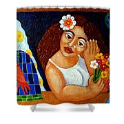 Eternal Eve - II Shower Curtain