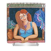 Eternal Eve Shower Curtain