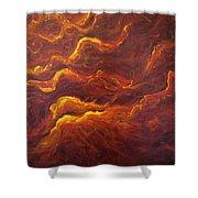 Eternal Flames Shower Curtain