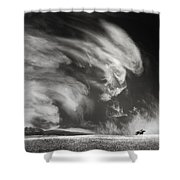 Eternal Hunting Grounds Shower Curtain