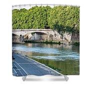 Eternal Tiber Shower Curtain
