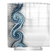 Eternal Wheel  Shower Curtain
