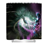 Eternel Feminin 02 Shower Curtain