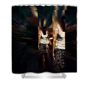 Ethereal Abstract Shower Curtain