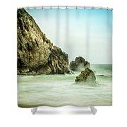 Ethereal Beach 2 Shower Curtain