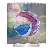 Ethereal World Shower Curtain