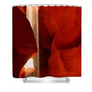 Ethereal Light Shower Curtain