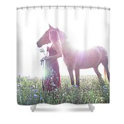 Ethereal Love Shower Curtain