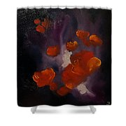 Ethereal Poppies                     81 Shower Curtain