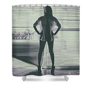 Ethereal Woman Shower Curtain