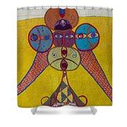 Ethiopian Ornament  Shower Curtain