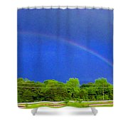 Etowah Rainbow Shower Curtain