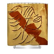 Etta - Tile Shower Curtain
