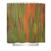 Eucalyptus Abstract Shower Curtain