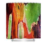 Eucalyptus Tree Bark Two Shower Curtain