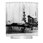 Eugene Burton Ely Shower Curtain