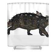 Euoplocephalus Dinosaur Shower Curtain