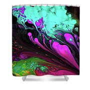Euphoric Playground Shower Curtain