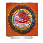 Euro Smile Shower Curtain