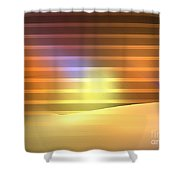 Europa Sunrays Shower Curtain