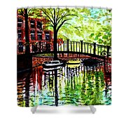 European Travels Shower Curtain