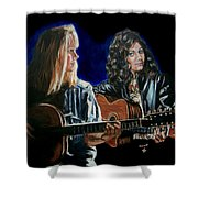 Eva Cassidy And Katie Melua Shower Curtain