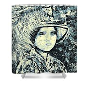 Evalina Shower Curtain