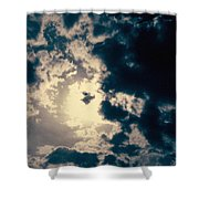 Evanston Cloudburst Shower Curtain
