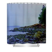 Eve At The Mount Shower Curtain