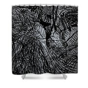 Even God Falls In Love Shower Curtain