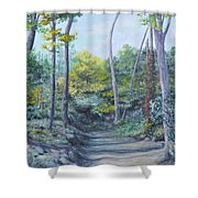 Even The Trees Praise Shower Curtain