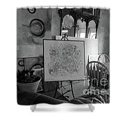 Even Without Color Shower Curtain