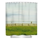 Evening At Cape May Shower Curtain