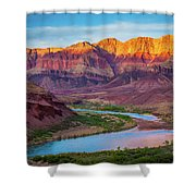 Evening At Cardenas Shower Curtain