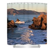 Evening At Land's End Shower Curtain