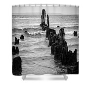 Evening At Picnic Point Shower Curtain