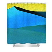Evening At The Dunes Shower Curtain