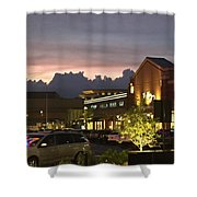 Evening At The Mall Shower Curtain