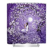 Evening Blessing Shower Curtain