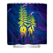 Aloe Flowers Shower Curtain