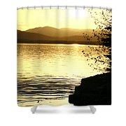 Evening Charlotte Sunset Shower Curtain