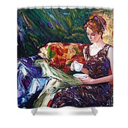 Evening Coffee Shower Curtain