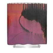 Evening Conversation Shower Curtain