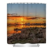 Evening Delight Shower Curtain