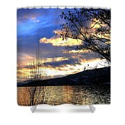 Evening Exhibition Shower Curtain